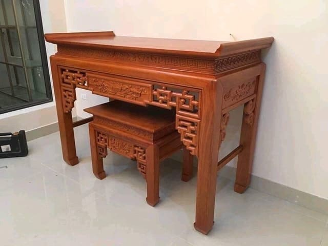 Bố trí bàn thờ hợp phong thủy của căn nhà