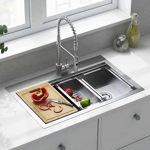 Bồn rửa bát thông minh cho các nhà nội trợ