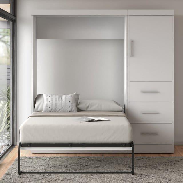 Giường đa năng ẩn tủ cho người độc thân 1m2 x 2m