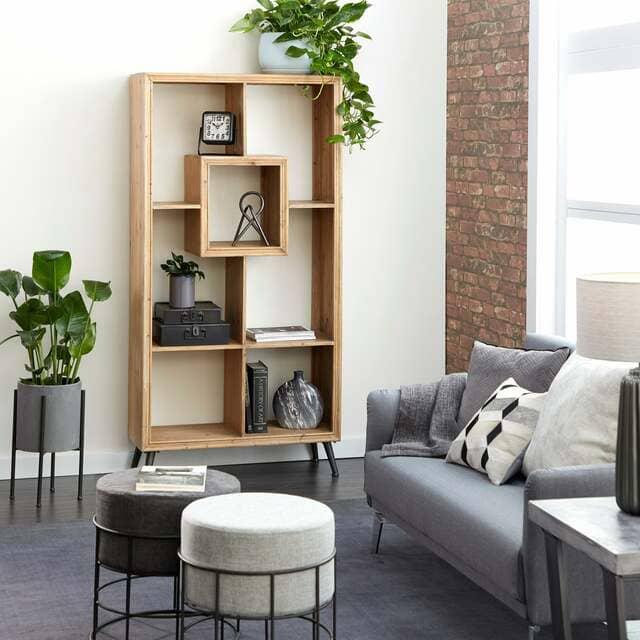 Mẫu trang trí phòng khách bằng vật dụng đa năng 3