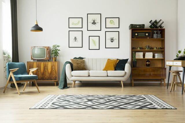 Thiết kế phòng khách bằng vật dụng đa năng