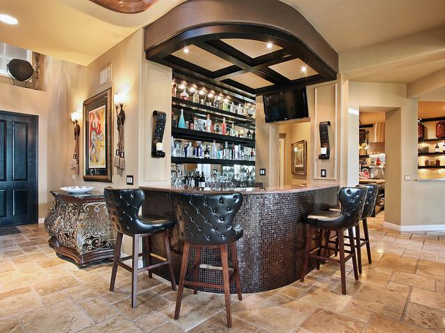 Quầy bar rượu vang tại nhà